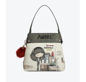 Bolso Tote Estampado 29881-38 de Anekke Couture