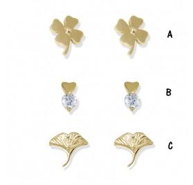 Pendientes Plata Flores PE402 D de Anartxy