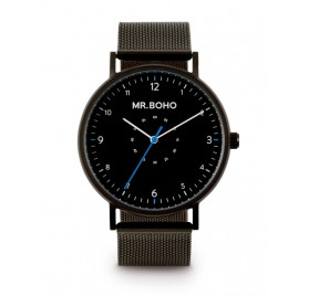 SPORTY METALLIC JET 40MM de Mr. Boho