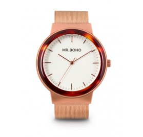 METALLIC ACETATE WALNUT COPPER 40MM de Mr. Boho