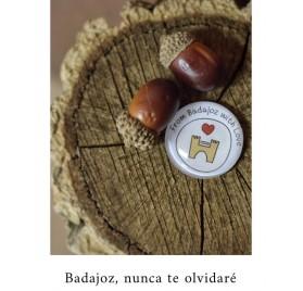 CHAPA BADAJOZ DE FOM BADAJOZ WITH LOVE
