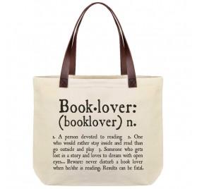 Bolsa de algodón Booklover de LEGAMI