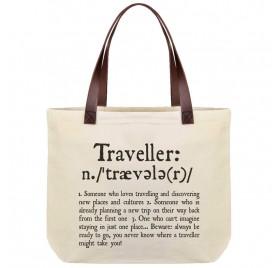 Bolsa de algodón Traveler de LEGAMI