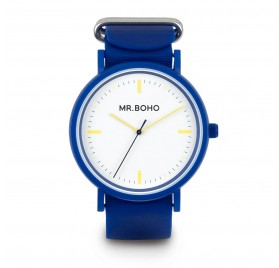 RELOJ SPORTY INDIGO YELLOW DE MR. BOHO