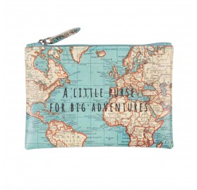 MONEDERO VINTAGE MAP, de SASS&BELLE